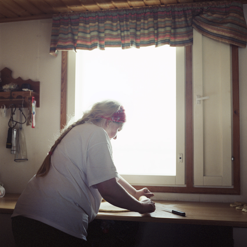 Portrait de femme sámi